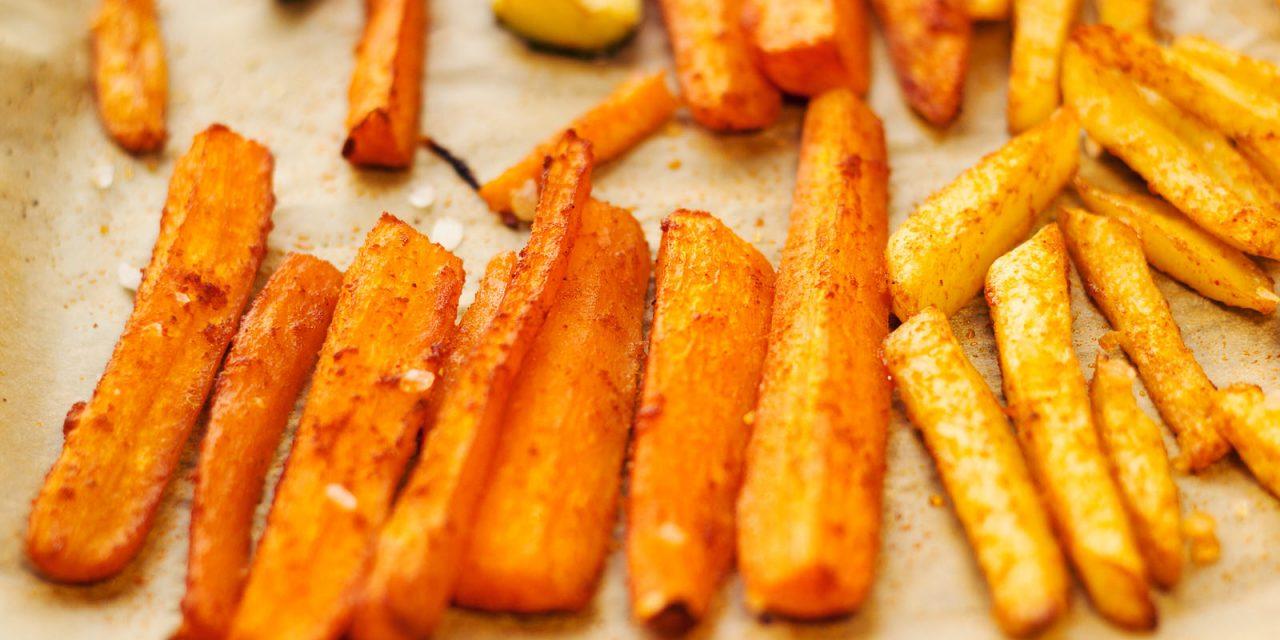 Cinnamon Carrot Fries