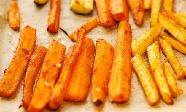 Cinnamon Carrot Fries