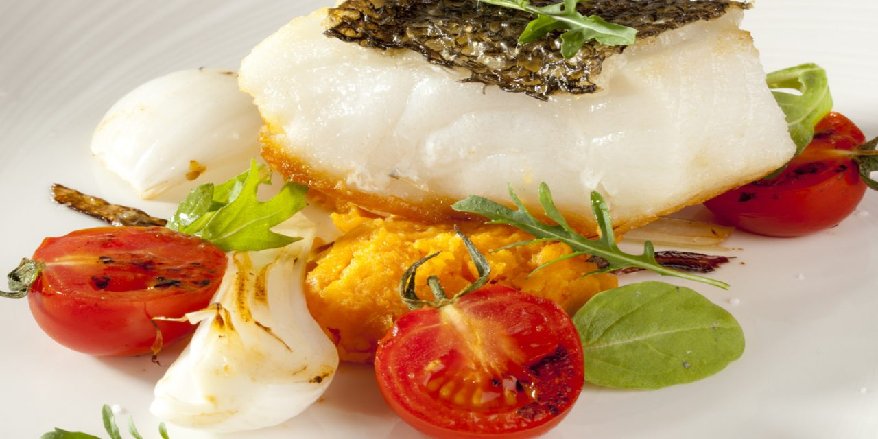Italian Rubbed Sea Bass Fillets