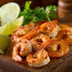 Cilantro Lime-Dipped Shrimp