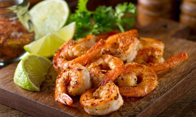 Cilantro Lime-Dipped Shrimp
